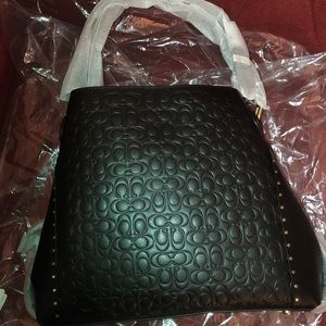 Coach Signature Leather Bag -Brand New never worn